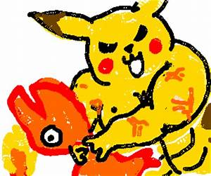 Pikachu wins Agumon