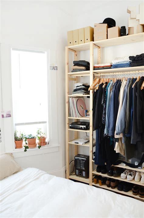 5 roommates 0 closets and lots of clever storage