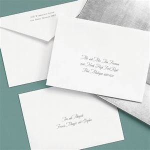 what39s the difference between inner and outer envelopes With how to address wedding invitations inner and outer envelopes