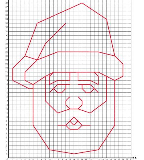 santa coordinate graphing activity  super teacher
