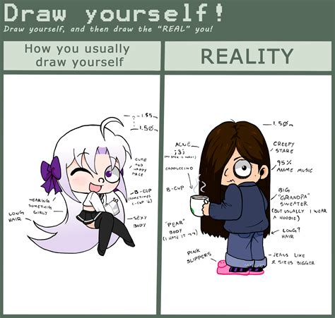 Deviantart Memes - draw yourself meme yoko version by yokokinawa on deviantart