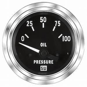 Deluxe Oil Pressure Gauge  P  N 82305
