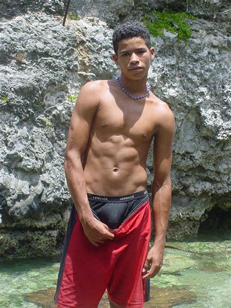 Crystal Clear Water Calls To The Latino Twink As He Strips And Takes A Dip