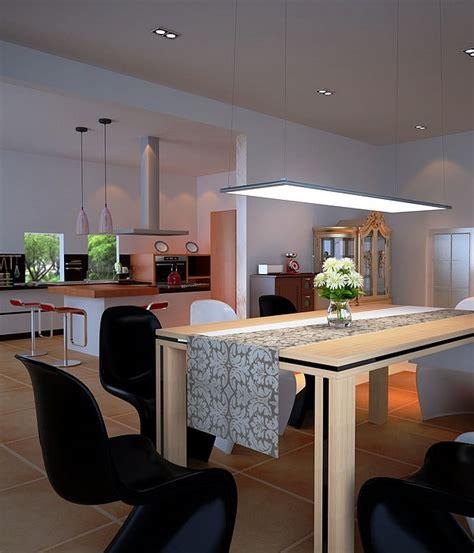 led panel light fixtures modern  efficient home