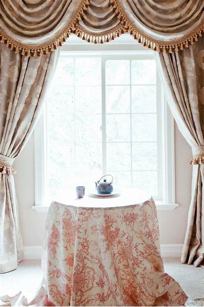 Swag Curtains Curtain Living Swags Camellia Window