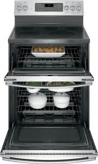 ge jbsjss   standing electric double oven convection range stainless steel