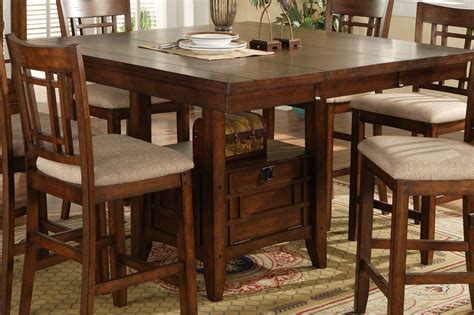 cherry dining room set homelegance counter height dining table 795 36
