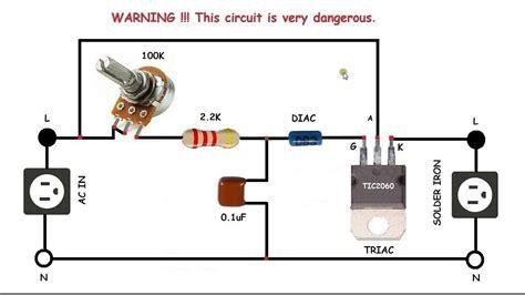 Control For Motors Soldering Iron Electronics