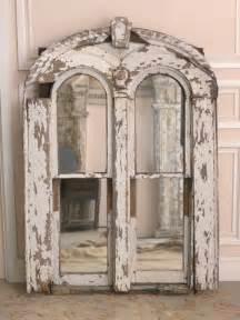 Arched Window Frame Mirror