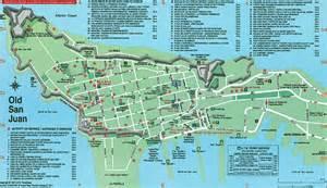 Old San Juan Tourist Map