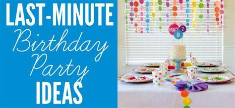 last minute decorations last minute party ideas design dazzle