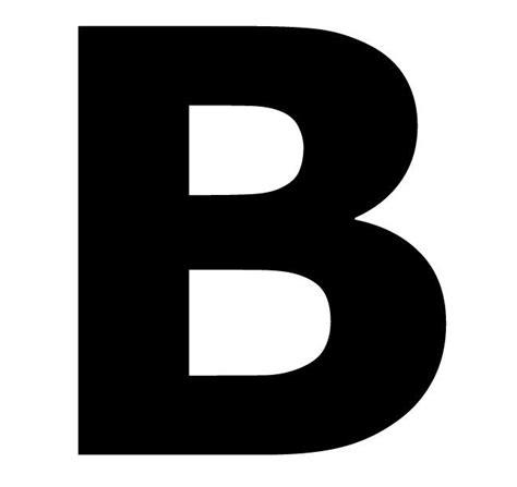 self stick designs 3 black letter b digit pack 5