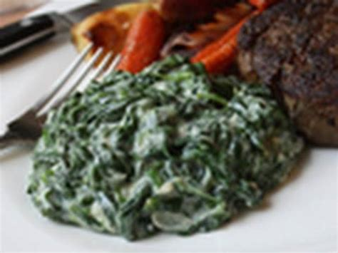 creamed spinach recipe steakhouse creamed spinach youtube