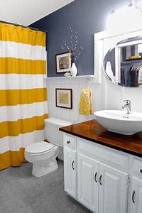 3 tips add style to a small bathroom With how to make a small bathroom look nice