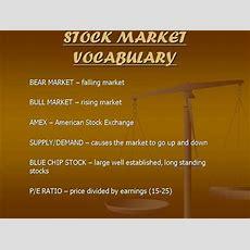Stock Market Vocabulary Authorstream