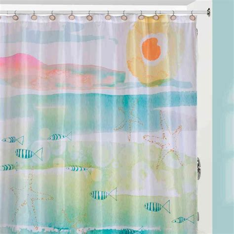 Creative Bath Shower Curtains by Creative Bath By The Sea Themed Shower Curtain
