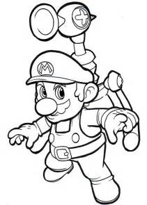 free printable mario coloring pages for kids - Sunshine Coloring Pages Printable