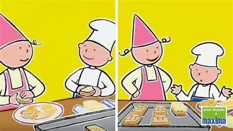dessin animé de cuisine apprendre la cuisine aux enfants avec un dessin animé