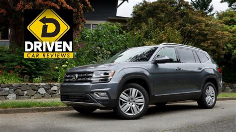 volkswagen atlas sel premium motion car review youtube