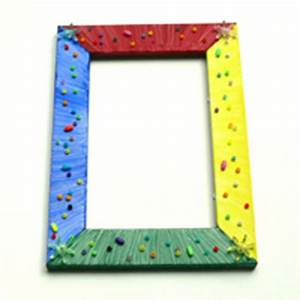 Fotorahmen Selbst Gestalten : bunte bilderrahmen mit kindern gestalten ~ Markanthonyermac.com Haus und Dekorationen