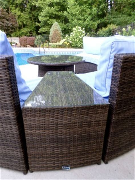 wicker patio furniture set top tips for buying by a pool