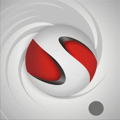 create  realistic  sphere logo  scratch  coreldraw