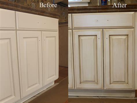 Refinishing Glazed Kitchen Cabinets   TheyDesign.net