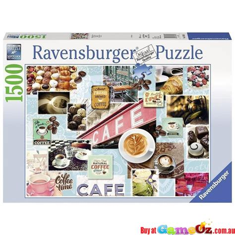 Millions of free jigsaw puzzles created by a large community. Ravensburger RB16346-5 - Coffee and Cake - Jigsaw Puzzle 1500 Piece