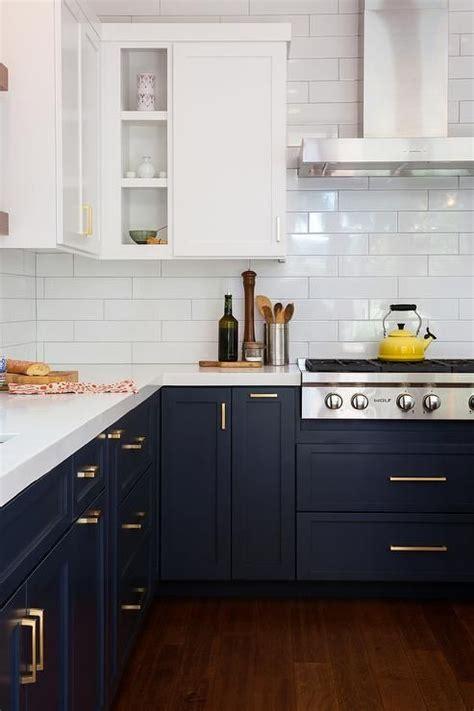 blue kitchen cabinets ideas best 25 navy blue kitchens ideas on navy