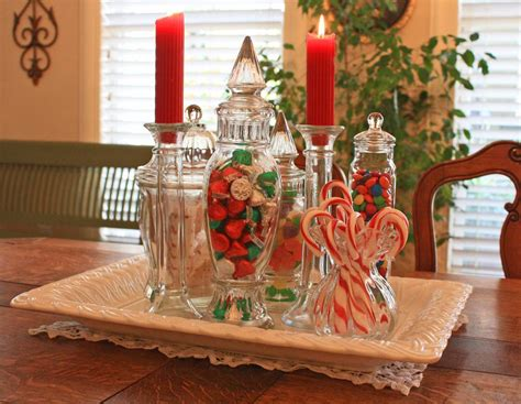A Christmas Candy Centerpiece