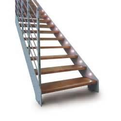 Escalier Droit Bois by Escalier Droit Limon Metal