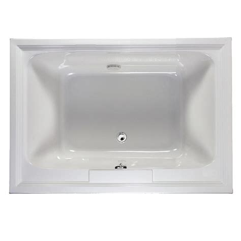 American Standard Mackenzie 45 Ft Bathtub by American Standard Town Square 5 Ft X 42 In Center Drain