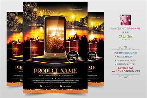 product showcase   flyer flyer templates creative