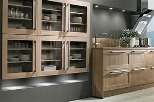 modele de cuisine equipee sur mesure de style rustique With modele de cuisine rustique