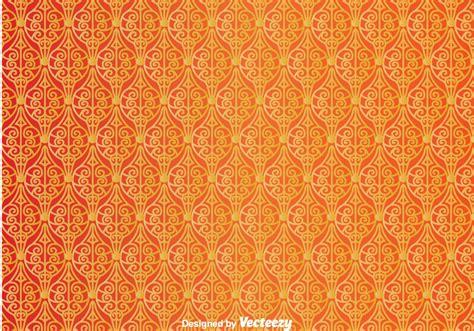 ornament orange wall tapestry   vector art