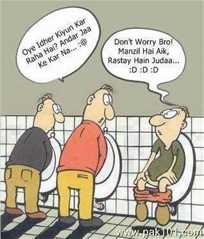 Funny Jokes Toilets Cartoons Cartoon Accidents Couple