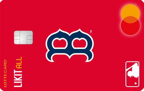likit  card mlbboston red sox  lotte card