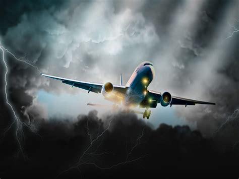 aviation dark storm clouds lightning art hd wallpaper