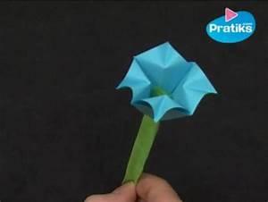 Comment Faire Des Origami : comment faire une fleur en papier facile pratiks ~ Nature-et-papiers.com Idées de Décoration