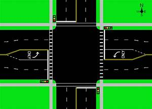 File Street Intersection Diagram Png