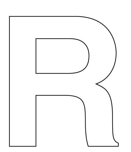 r in letters large block letters template learnhowtoloseweight net 24185