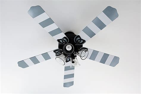 Ceiling Fan Blade Covers Australia by Striped Ceiling Fan Blades Project Page