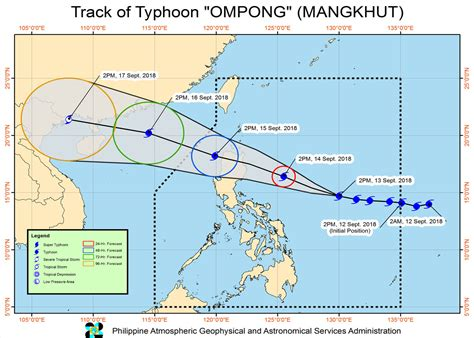 Explain pagasa, define pagasa, meaning of pagasa PAGASA HOURLY Update for Tropical Cyclone: ''OMPONG'' - 14 ...
