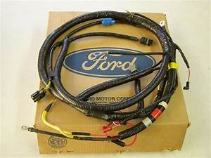 Nos Oem Ford 1992 F 600 700 800 Series Truck Engine Wiring