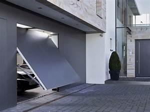 Porte De Garage Basculante Sur Mesure : porte de garage basculante tr s esth tique ~ Melissatoandfro.com Idées de Décoration