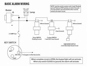 Marine General Alarm Wiring Diagram