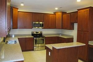Kitchen Captivating Design Of Cherry Cabinets Bring Well