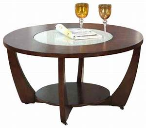 Steve silver rafael round glass insert cocktail table in for Round glass silver coffee table