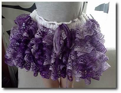 Skirt Frilly Pattern Crochet Ravelry Karlie Ruffle