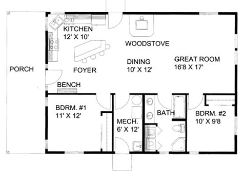 great room house plans one cabin style house plan 2 beds 1 00 baths 1200 sq ft plan